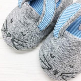 Тапочки детские «Кролики» с задником