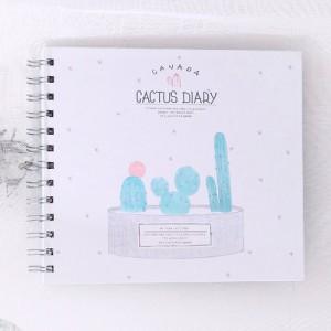 """Фотоальбом """"Cactus Diary"""" звездочки"""