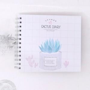 """Фотоальбом """"Cactus Diary"""" клетка"""