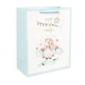 Подарочный пакет Halluci «Happy party» L