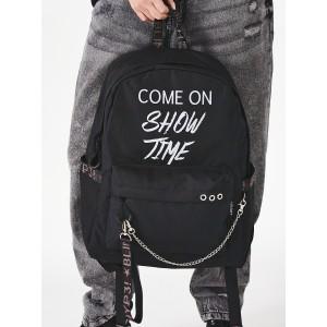 Рюкзак «Come on Show Time» чёрный с чёрным