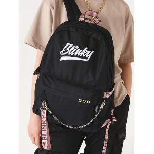Рюкзак «Blinky» чёрный с розовым