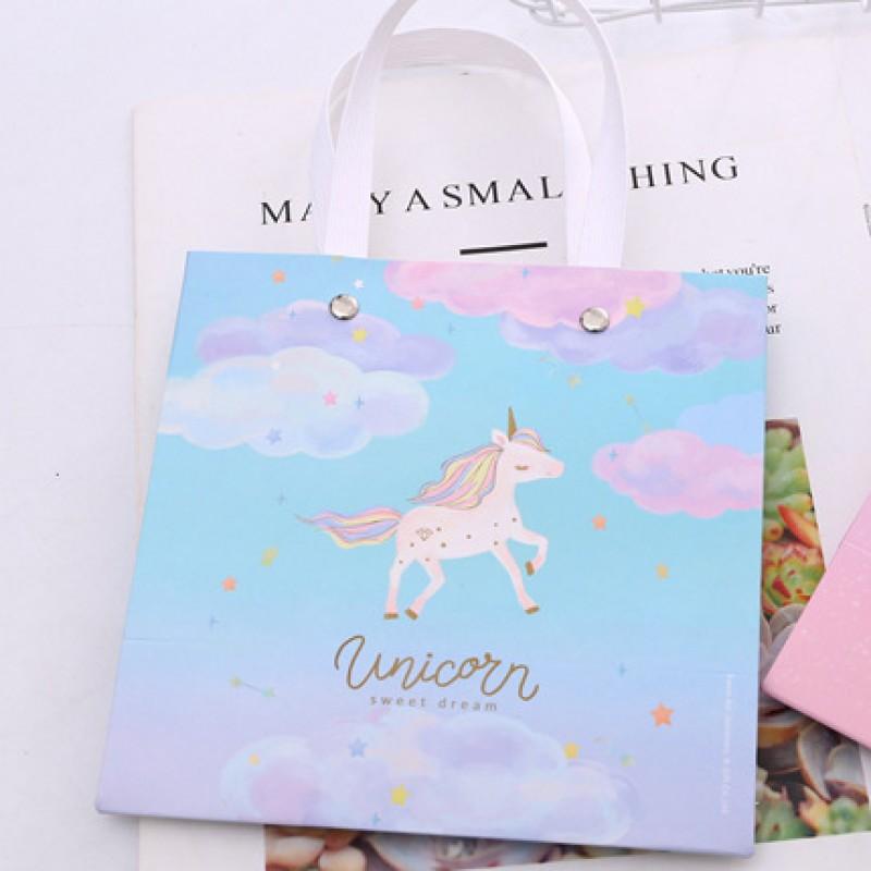 Пакет подарочный S «Unicorn» облака