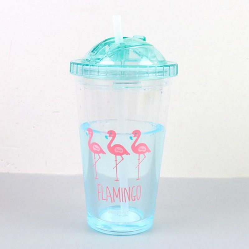 Стакан «Flamingo» голубой