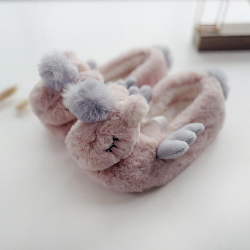 Тапочки детские «Зефирные пегасы» с задником