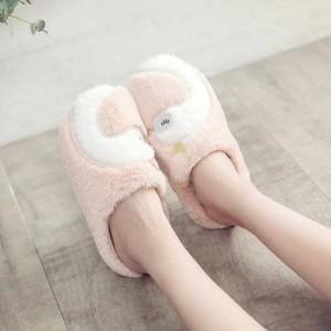 Тапочки «Лебеди» розовые
