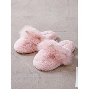 Тапочки «Пушистые Единороги» розовые закрытые