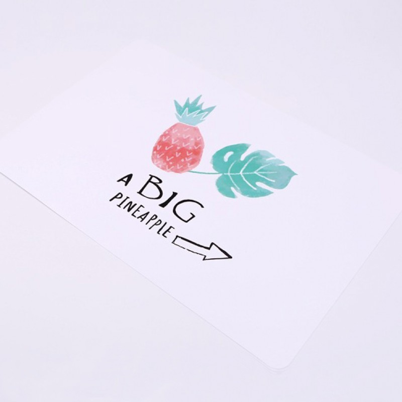 Накладка на стол «Ананас» a big pineapple