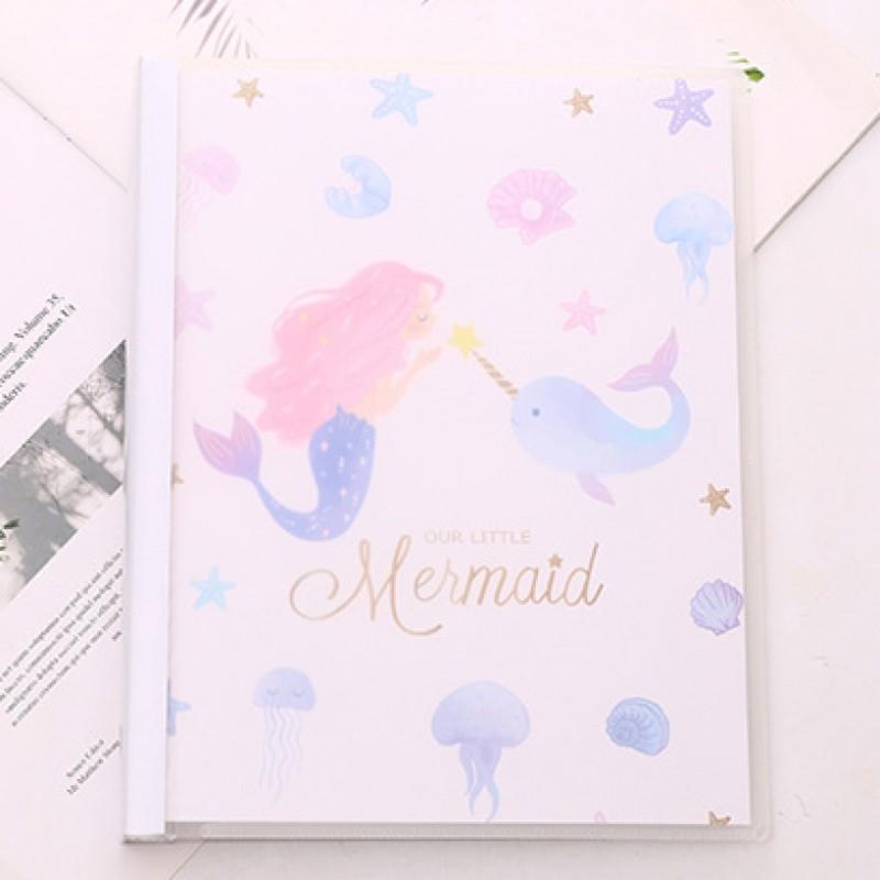 Блокнот-notebook «Mermaid» белый
