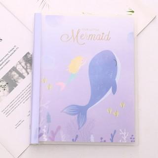 Блокнот-notebook «Mermaid» фиолетовый