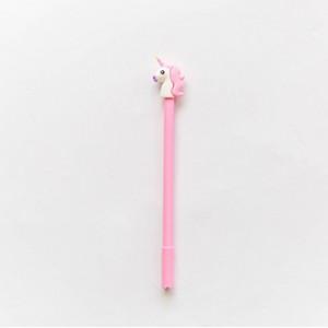Ручка гелевая «Unicorn» розовая