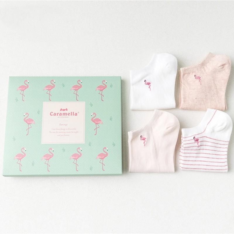 Набор носков «Фламинго», 4 пары