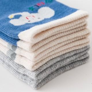Набор детских носков «Слоники» в мягкой упаковке, 3 пары