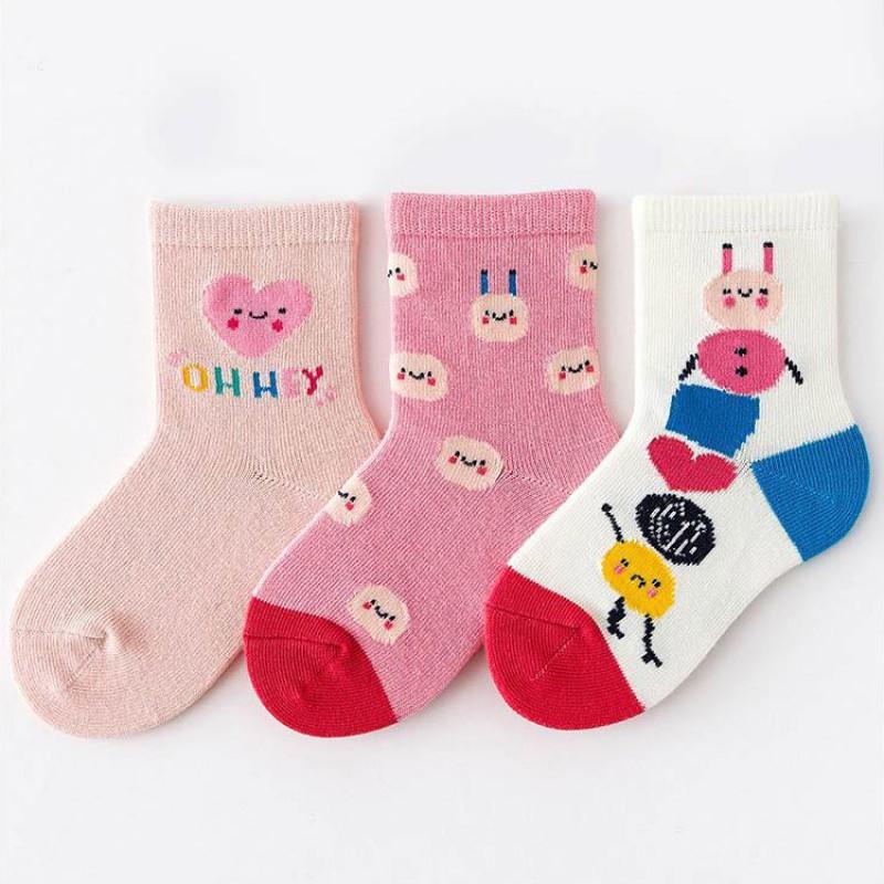 Набор детских носков «Oh hey» в мягкой упаковке, 3 пары