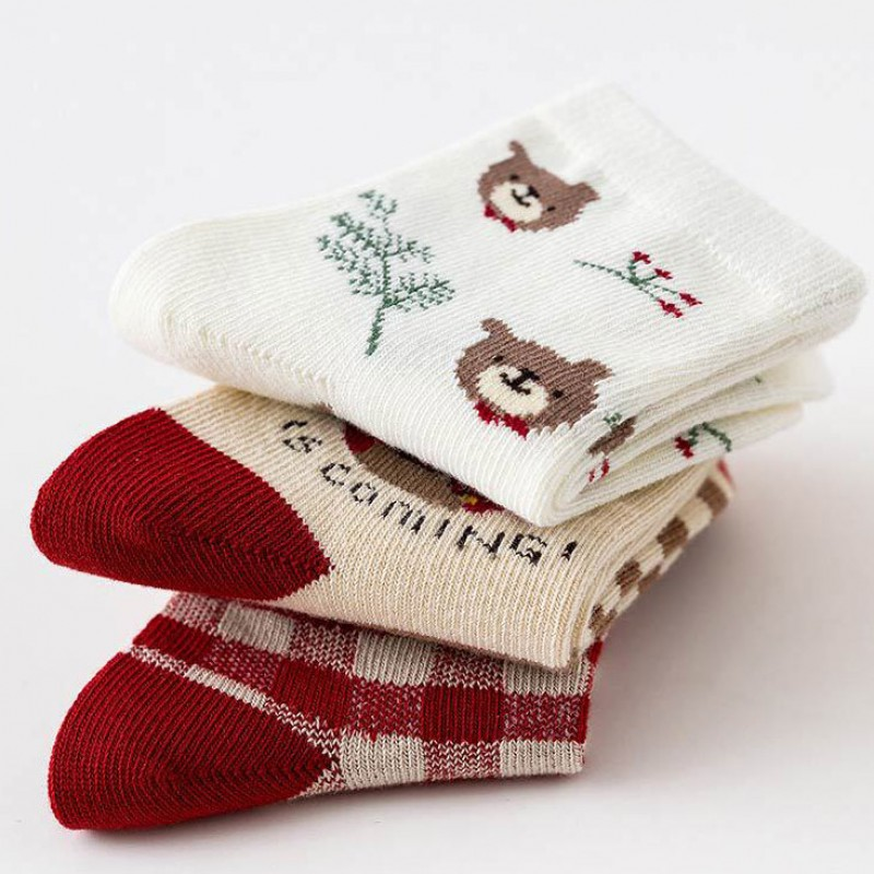 Набор детских носков «Winter is coming» в мягкой упаковке, 3 пары