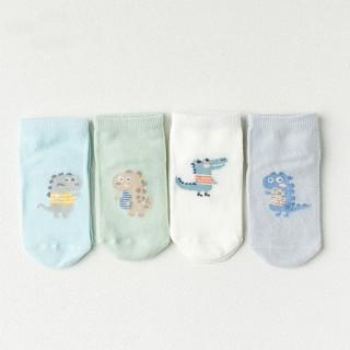 Набор детских носков «Динозавры», 4 пары