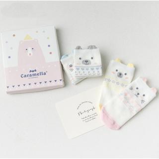 Набор детских носков «Весёлый мишка», 4 пары