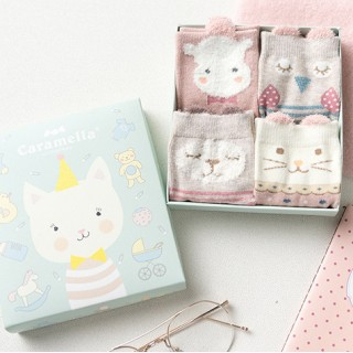 Набор детских носков «Котенок-2», 4 пары