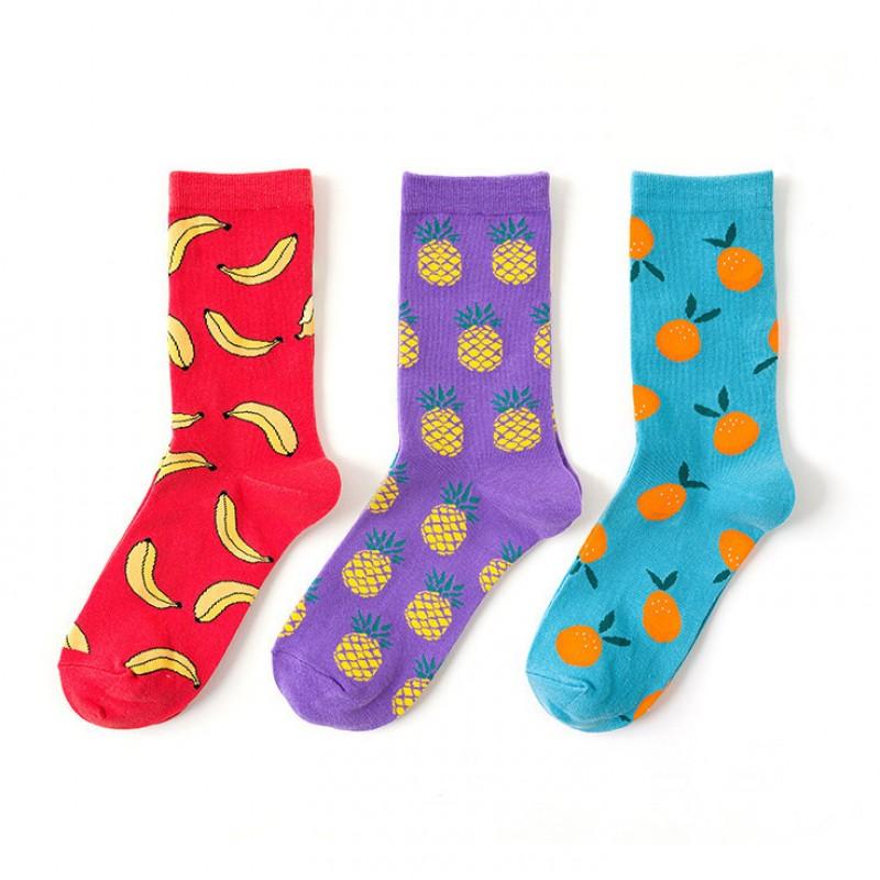 Набор носков «Fruits-2» в мягкой упаковке, 3 пары